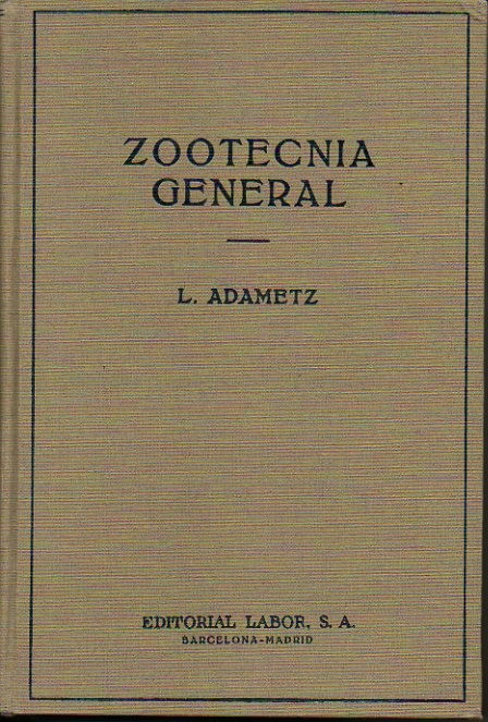 ZOOTECNIA GENERAL.